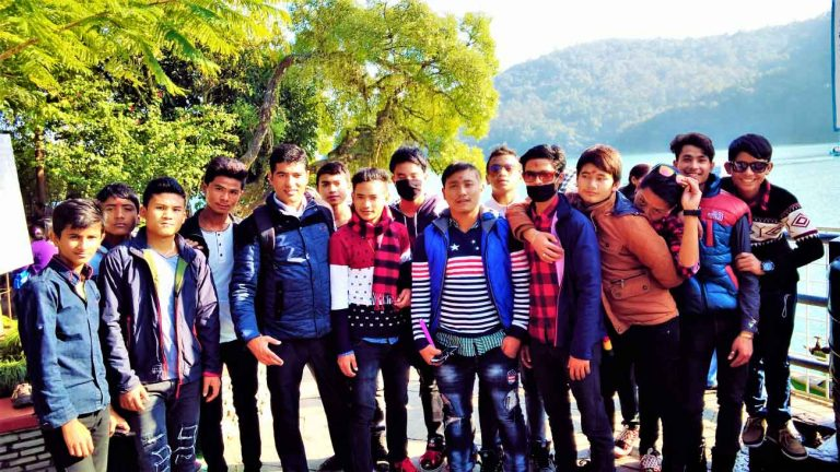 Pokhara Tour with Students - Shiva Prasad Dhakal